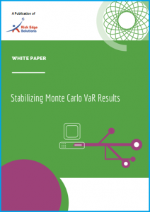 Whitepaper- Stabilizing MC VaR Results